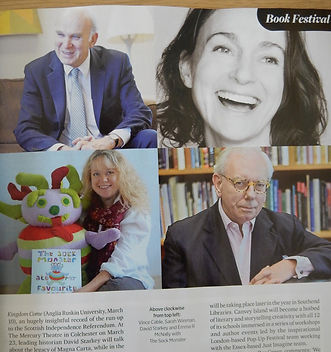 Essex Book Festival article in Essex Life Magazine, Emma R McNally