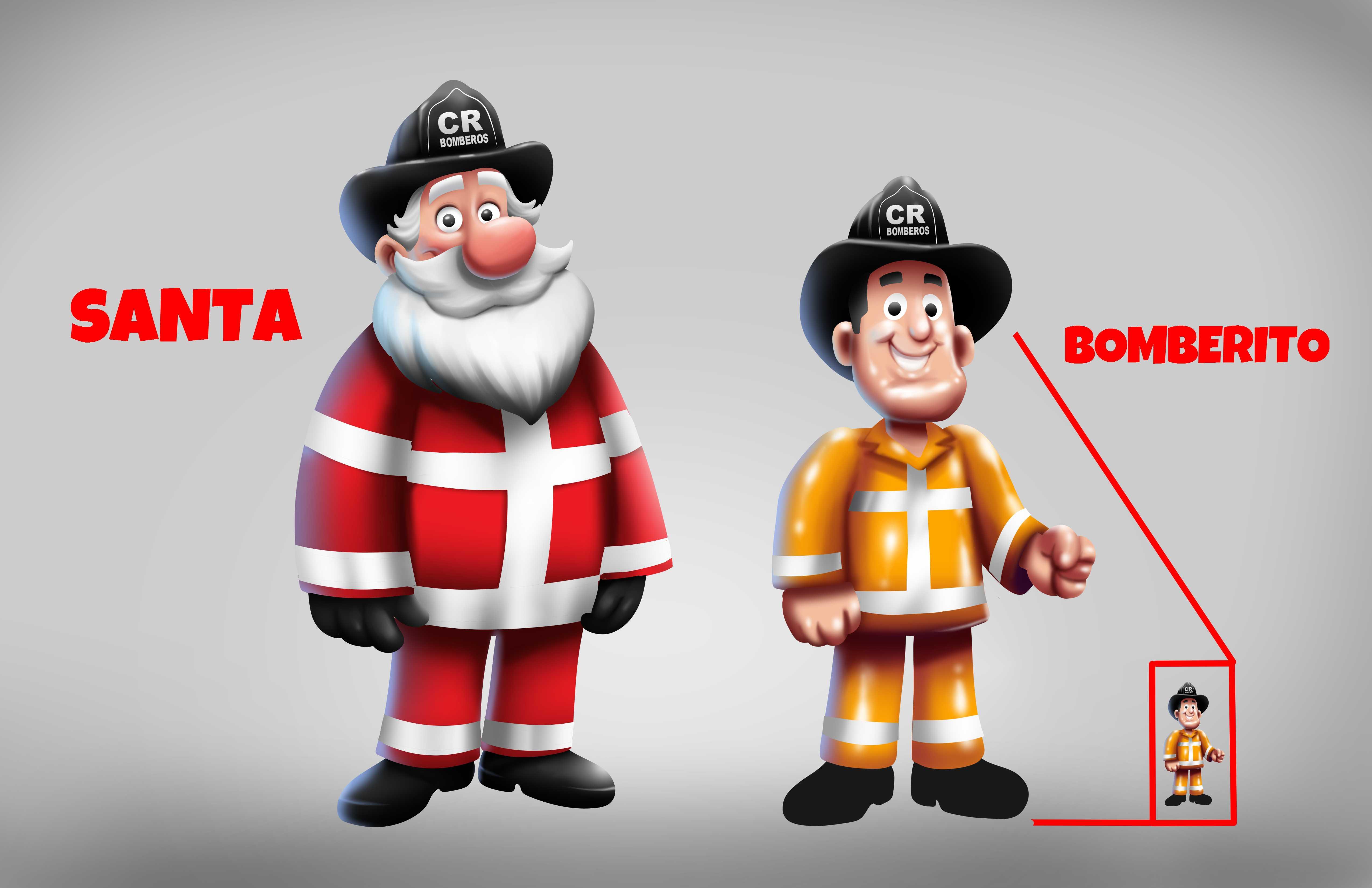 Campaña Bomberos navidad