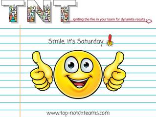Smile, It's Saturday!