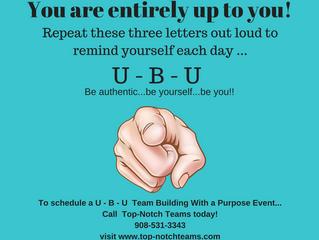 "Repeat after me, ""U - B - U!"""