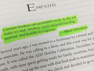 Leadership Lesson...Kindness Matters