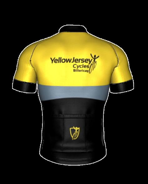 Yellow Jersey SS Jersey Back