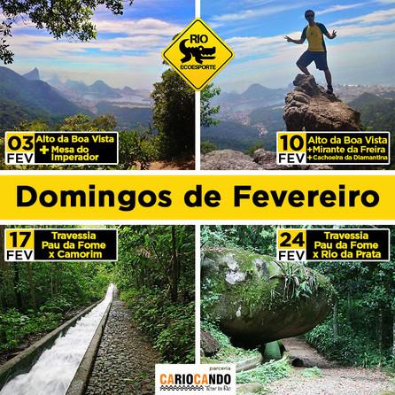 Explorando a cidade a pé: Grupo Mateiros leva cariocas e turistas para destinos menos conhecidos do