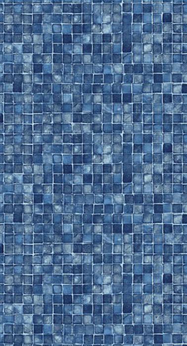 Blue Mosaic No Border(W*) Blue Mosaic(F*)