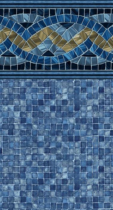 Carnegie Blue Mosaic(W*) Blue Mosaic(F*)