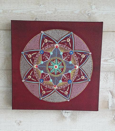 Mandala 'ÉCLOSION'