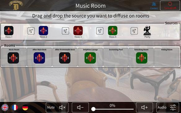 Audio Crestron SS Delphine vue1