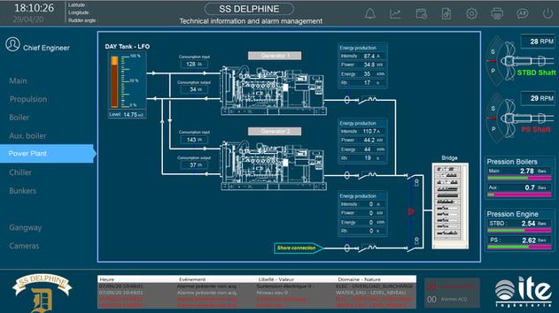 Power Plant SS Delphine vue1
