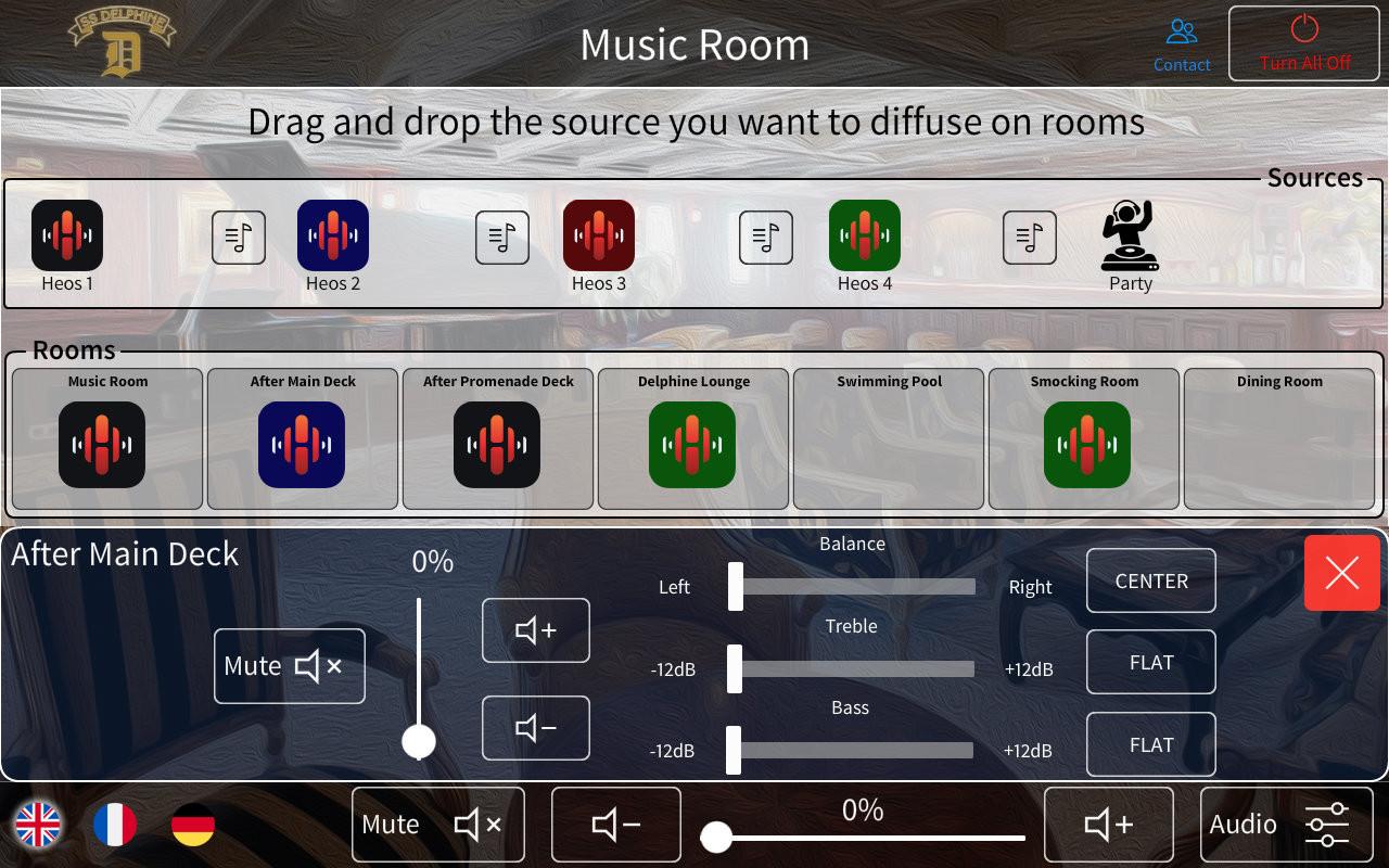 Audio Crestron SS Delphine vue2