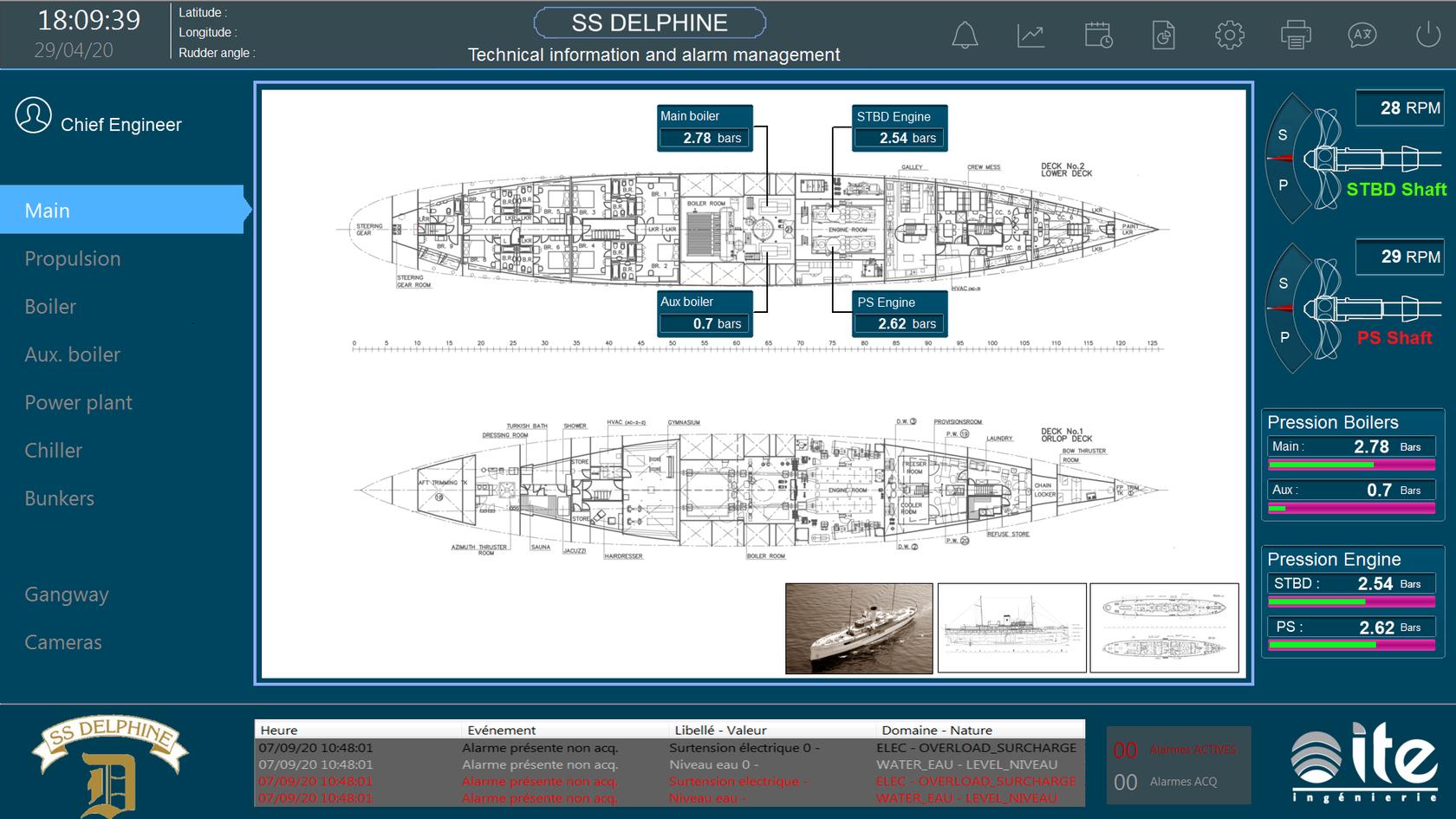 Supervision SS Delphine vue3