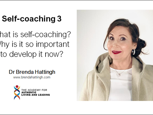 Self-coaching 3: What is self-coaching? Why is it so important now?