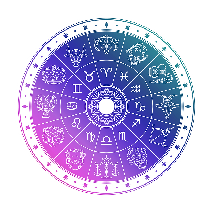 Natal chart reading for Andromedastar seedmanifesting generator entrepreneurs Astrology Marketing Strategies Consulting Austin Texas Cool Colors Astrology Wheel Multicolored Zodic Wheel