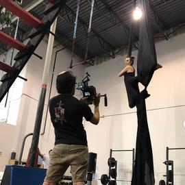 Alli Blotter Stunt performer Aerial silk