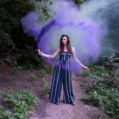 Alli Blotter Fantasy Smoke Photography A