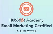 HubSpot Academy Email Marketing Certifie