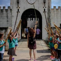 Alli Blotter Girl Scouts Castle Austin T