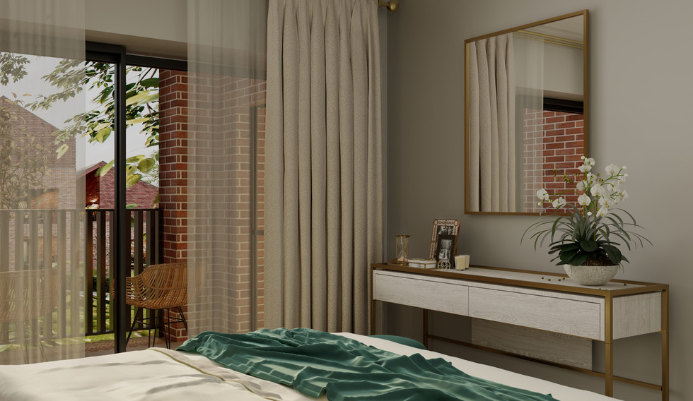 Master bedroom - cgi