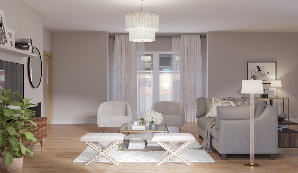 Living room cgi