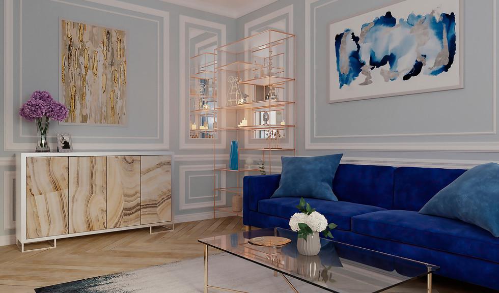 London flat interior design