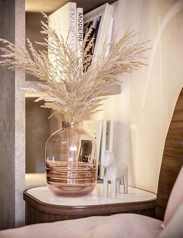 3d rendering pink room