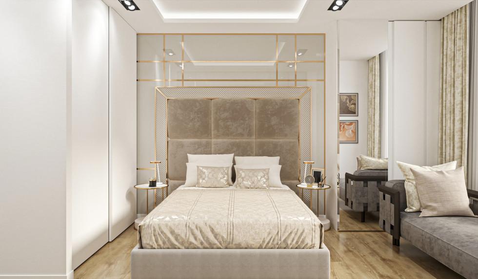 Master bedroom cgi