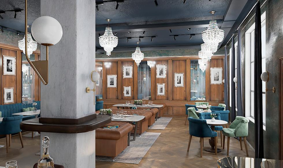 restaurant 3d design