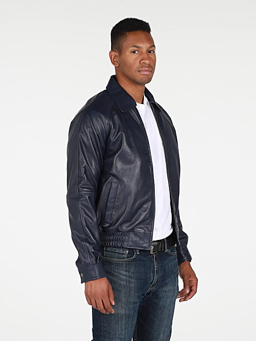 Asher Mens Leather Jacket