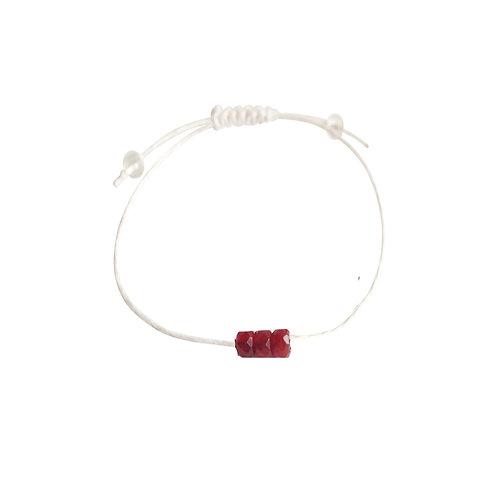 Carnelian + Hemp + Choice of Anklet or Bracelet