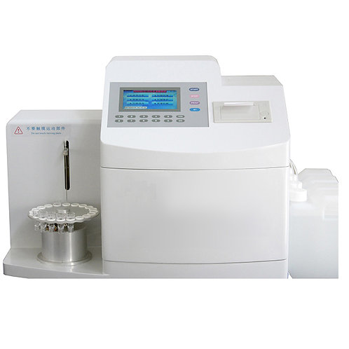 Blood test Fully Auto Glycated Hemoglobin HbA1c Analyzer machine MSLGH08