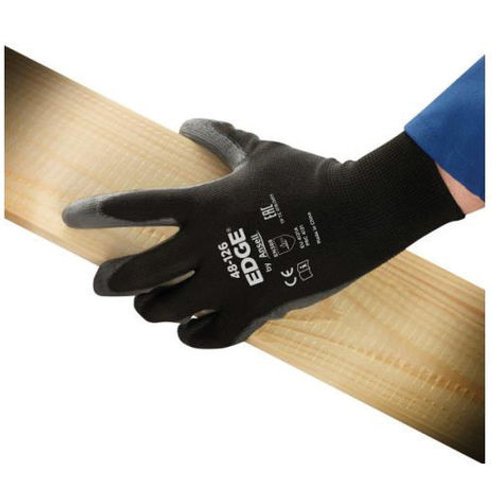 Ansell: 48-126 Edge PU Palm Black Glove Size 9