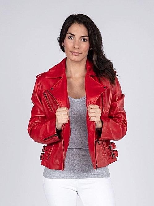 Ava Womens Leather Jacket