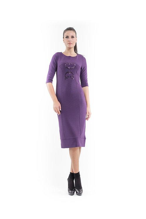Sequin Detail Stretch Dress