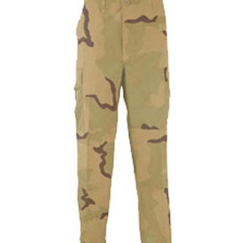 Propper BDU Pants 50-50 Nylon-Cotton Ripstop - 3 COLOR DESERT