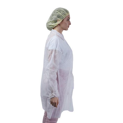 Single Use Non-woven Laboratory White Coats