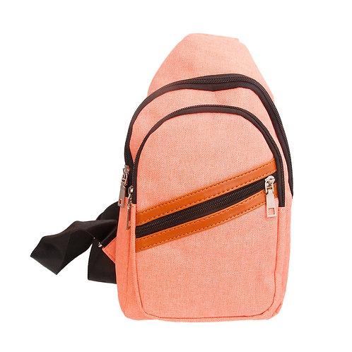 Orange Shoulder Sling Pack