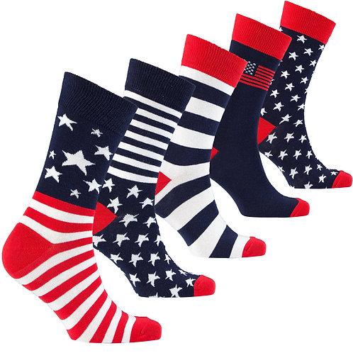 Men's Patriot Socks