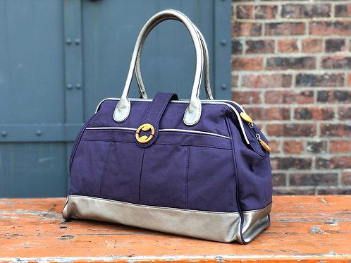 Cassia Weekender & Travel Bag - Indigo Purple