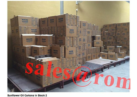 Refined Sunflower Oil packing warehose