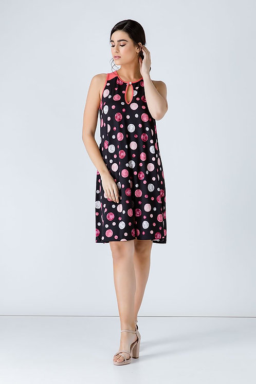 Polka Dot a Line Dress