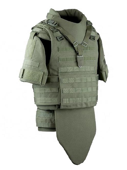 NIJ light weight full protection body armor