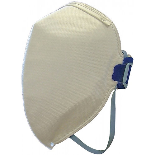 Fold Flat Disposable Mask FFP2 Protection (Pk 3)