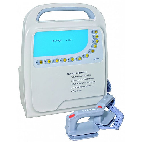 Defibrillator/biphasic