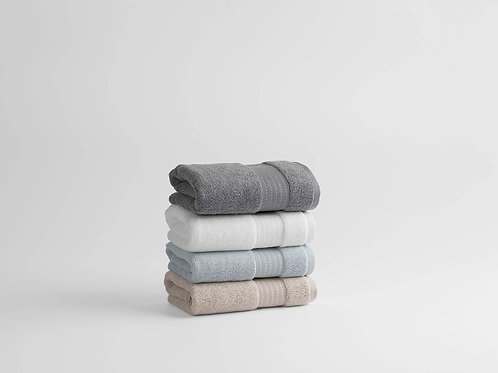 100% Organic Cotton Turkish Dobby Design Hand Towels (Pair)