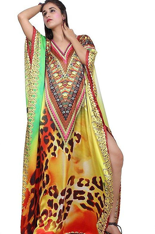 Beach Kaftan Dress for Beaded/One Piece Jeweled Full Length Kaftan/Long Kaftans