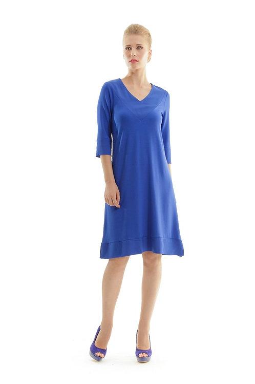 A Line v Neck Dress