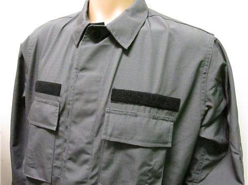 Tru-Spec BDU Jacket with Hook/Loop - CHARCOAL GREY