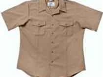 U.S. G.I. Men's Service Work Shirt - KHAKI