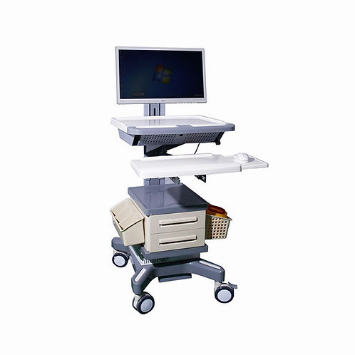 BR-LT11 Luxurious Doctor workstation nursing computer trolley