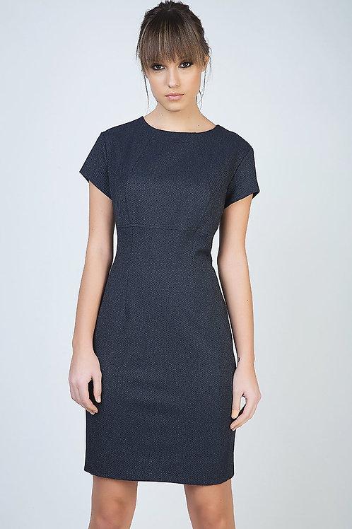Tailored Short Sleeve Dress