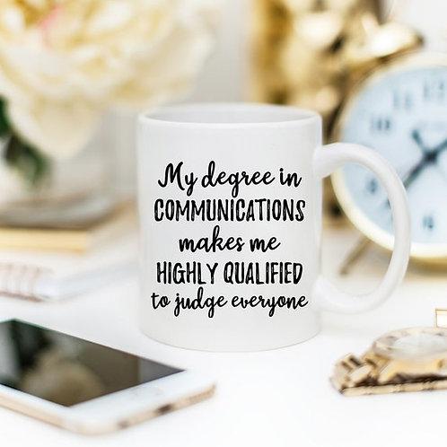Communications Gift, Communications Mug,